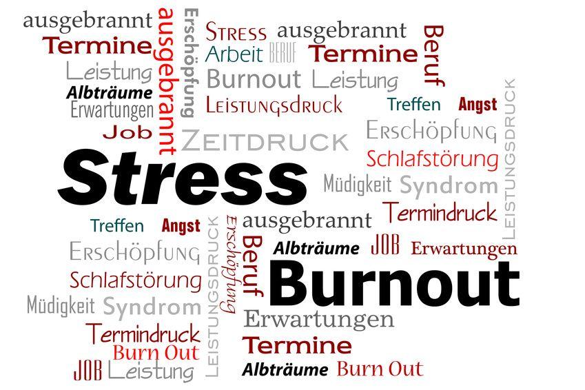 Stress, Burnout Erschöpfung, Fatigue
